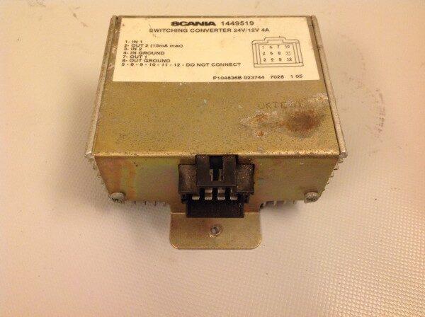 SCANIA konverter 24V/12V 4A 1449519