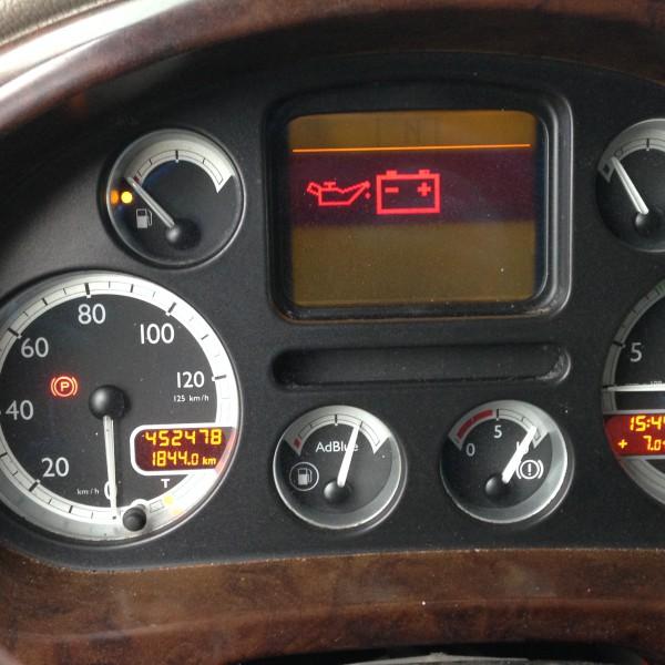 Daf XF 105 2009 Hüdraulika